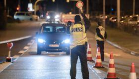 Police Launch Manhunt For Terror Suspect