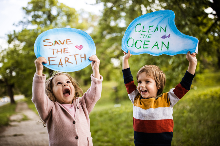Save our childhood by saving the environment!