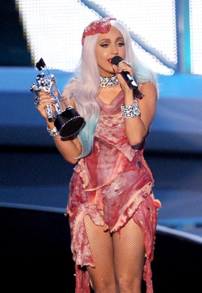 Lady Gaga's Meat Dress (2010)