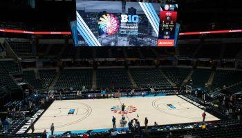 COLLEGE BASKETBALL: MAR 12 Big Ten Tournament - Michigan v Rutgers