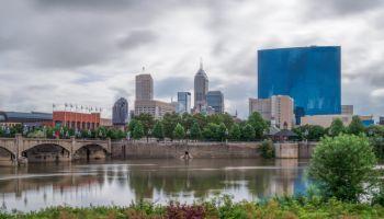 Indianapolis City Skyline, Indiana