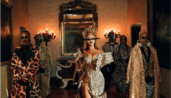 Mood 4 Eva Image from Beyonce's Visual Album Black is King on Disney +